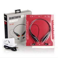 Wholesale HV HV800 neckband Stereo Portable sport headsets In ear bluetooth Headphones wireless Earphone