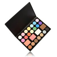 Wholesale Anself Eye Shadow Makeup Palette Set Color Blusher Color Bronzer Earth Soft Color Glittering Matte Eyeshadow W1218