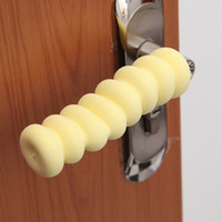baby safety door knob covers - Spiral Baby Children Safety Door Handle Protective Cover Anti collision Knob for Kids Room Against Bruises