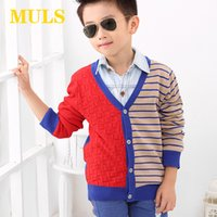 baby cardigan - 2015 Summer Style Phone Cases Baby Clothes Cotton Striped Active Computer Children s Cardigan Boy Spring Autumn Standard Jx1409024