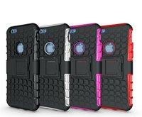 achat en gros de hybrid case-Pour iPhone Case 6 Hybrid, Heavy Duty TPU Durable PC Robot Coque iPhone 6 4.7 plus 5.5 5C 5S Galaxy S3 S5 S4 Note 3 Note 2 M8 0001