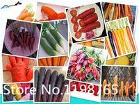 Cheap Free Shipping 200 pieces bag vegetable seeds carrot seeds for home garden planting sementes Purple Dragon Carrot ginseng nouris