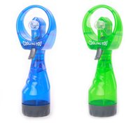 Wholesale Mist Sport Beach Camp Travel Portable Mini Handheld Misting Fan Battery Fashion Water Spray Cooling Cool Fan