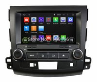 mitsubishi tv - Android HD din quot Car DVD Player for Mitsubishi OUTLANDER With GPS G WIFI PC Bluetooth IPOD TV Radio AUX IN