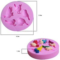 Wholesale Details about Bird Silicone Fondant Mold Cake Decorating Chocolate Baking Sugarcraft Mould DIY