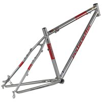Wholesale missile PIONEER quot titanium colored mountain bike pioneer steel frame Reynolds