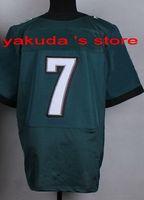 discount football jerseys - 2015 New Draft Tracker Jerseys New Player Jersey Home Green Black and White Elite Football Jersey Discount Cheap Football Top