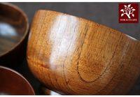 bamboo rice bowl - Japanese Style Wooden Bowl Bowl for Babies Rice Bowl Big