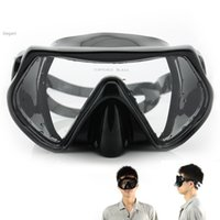Wholesale Swimming Scuba Diving Goggles Mask Snorkeling Silicone Mask