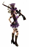 Wholesale New hot sale Game anime figure PVC doll toy LOL League City policewoman Paper City policewoman Caitlin CM