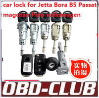 benz door locks - 2016The new car lock for Jetta bora B5 passat magotan polo car lock left door lock