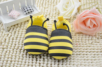 Spring / Autumn bee shoes kids - Size Children s Shoes Baby Boys Girls Casual Single Shoe Boat Shoes For Infants Cute Bee Kids Toddler Shoes