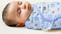 Wholesale summer newborn baby swaddleme parisarc cotton soft infant newborn baby products Blanket Swaddling Wrap Blanket Sleepsack