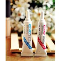 Yes adhesive eyelash - 2015 hot New Waterproof False Eyelashes Makeup Adhesive Eye Lash Glue Clear White Lady M01121