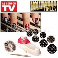 alignment systems - New Fashion Hollywood Nails All in One Nail Art System Perfect Alignment Every Time Nail Art Equipment