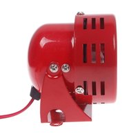 Wholesale Vintage V Car Truck Driven Air Raid Siren Horn Loud Sound Alarm Fire Security Z00051