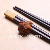 asian table cloths - Exquisite Asian brown table cloth placemats napkins pairs bamboo chopsticks set Chinese characteristics Gift