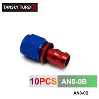 Wholesale TANSKY AN AN8 AN STRAIGHT SWIVEL OIL FUEL GAS LINE HOSE END PUSH ON MALE FIT TING AN8 B