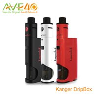 battery replacement kits - 100 Original Kangertech Dripbox w Kit mL Subdrip Atomizer Battery Dripmod Replacement Drip Coil Kangertech Subdrip Tank Dripmod