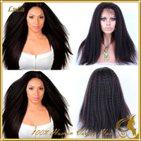 full lace wigs for black women - Human Hair Wigs For Black Women Brazilian Virgin Hair Full Lace wigs Kinky Straight Human Hair Wigs