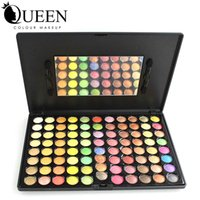 accounting professionals - Big Account Professional Colors Rainbow Eyeshadow Palette with Mirror and Brushes Inside AE88F
