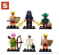 Wholesale SY261 Building Blocks Super Heroes Avengers Minifigures Clash of Clans Minifigures Bricks Toy for Children diy toys