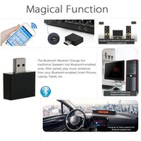 audio systems for cars - USB Wireless Stereo Bluetooth Receiver Bluetooth EDR Audio Music Box with for Speaker Car AUX Home Audio System Devices V1829