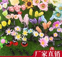 Wholesale New Lovely Novelty Plants Grass Fruit Hair Clips Headwear Small Bud Antenna Hairpins Lucky Grass Bean Sprout Mushroom Party Hair Pin
