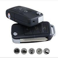 car keys - S818 Mini spy car keys Camcorder HD car key chain Camera Hidden Motion Detect SPY Video Recorder camera DVR Support Video