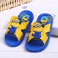 Wholesale pairs summer new children s cartoon slippers cute non slip sandals house slippers via fast shipping
