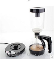 Wholesale Siphoncoffee maker th Generation Black Empire Stainless steel Electric Syphon Household appliances professional coffee potDT
