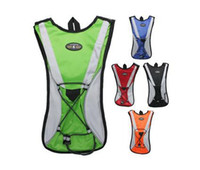 Wholesale 2014 New Hydration Pack Water Backpack Cycling Bladder Bag Sports Hiking Climbing Pouch Blue Black Red Orange Different Colors Cycling Ba