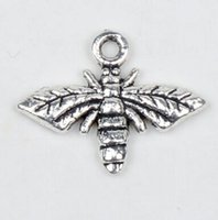 honey bee - New x13mm Tibetan Silver Honey Bee Alloy Charms Pendants Jewelry DIY