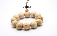 Cheap 2016 New ivory wooden beads water ripples Bracelets