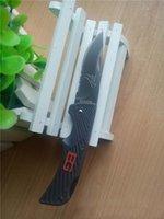 Multi Knife bear scout - Brand New mm Small GB Bear Bell SURVIVAL SERIES HRC knife scout CR17MOV blade Folding EDC pocket rescue Folder knife knives