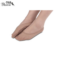 Wholesale Sock Muji - Wholesale-Summer Style 2015 New Sexy Ladies muji invisible silicone non-slip Socks Women Solid Point Sock Slippers Meias Free Shipping