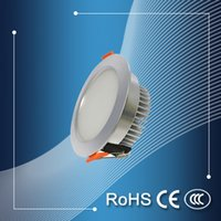 aluminum die casting price - The meeting room lighting die casting downlight promotion price SMD5730 led ceiling downlight recessed led downlight w