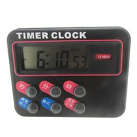 Wholesale Factory Outlet Square Timer customers can request custom LOGO printed in English instructions