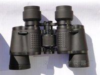 Wholesale 7X35 binoculars Telescope zoom shimmer night vision opear Hunting birding Camping black Telescopes support tripod