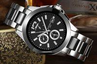 Wholesale 40mm Sangdo Automatic mechanical men s watch Luxury brands watch Fashion watches SANGDO0002