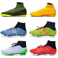 Wholesale excellent quality The New in Stock Best Quality FG AG TF IC Soccer Shoes Men Soccer Boots Sport Shoes Football Shoes