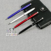 ballpoint pen manufacturing - Multicolor design Stationary on the pen cap shape ball point pen metal manufacturing process laser print logo stationery