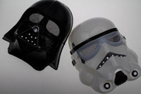 Wholesale Fashion Hot Halloween Festival horror mask Star Wars the Darth vader mask black and white color