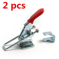 Wholesale 2 Hand Tools Quick Holding Latch Type Toggle Clamp Metal Toggle Clamp order lt no track