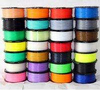 Wholesale DIY D Printer MM PLA Filament KG M Colorful High Strength D Drawing Pen Filament D Printer Pen PLA Filament