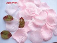 artificial rose petals bulk - Pink artificial Silk Rose petal bulk fake fabric flower petals Wedding Supplies Favor Party DIY Decoration Carpet Accessories