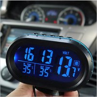 auto plastics material - Multi functional Digital Auto Car Thermometer Adjustable Glass Car Thermometer V Voltage Plastic and Glass Material Sale