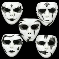 Wholesale Men Dancing Party Full Face Masks PVC Face Masks Styles Men Halloween Masks Bar Club Outdoor Masquerade Masks