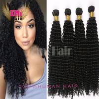extension natural hair curl - Brazilian Kinky Curly Hair Bundles Per Virgin Hair Extension Curl Human Hair Weave Cheap Human Hair Brazilian Malaysian Indian Hair