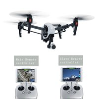 Wholesale Original DJI T600 Inspire Professional drones RC FPV Quadcopter with K HD Camera with Axis Gimbal Dual Transmitters
